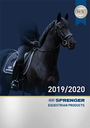Sprenger Equestrian Catalogue 2020 Cover