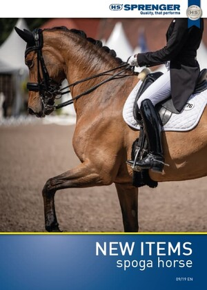 Sprenger New Items 2019 Equestrian Flyer