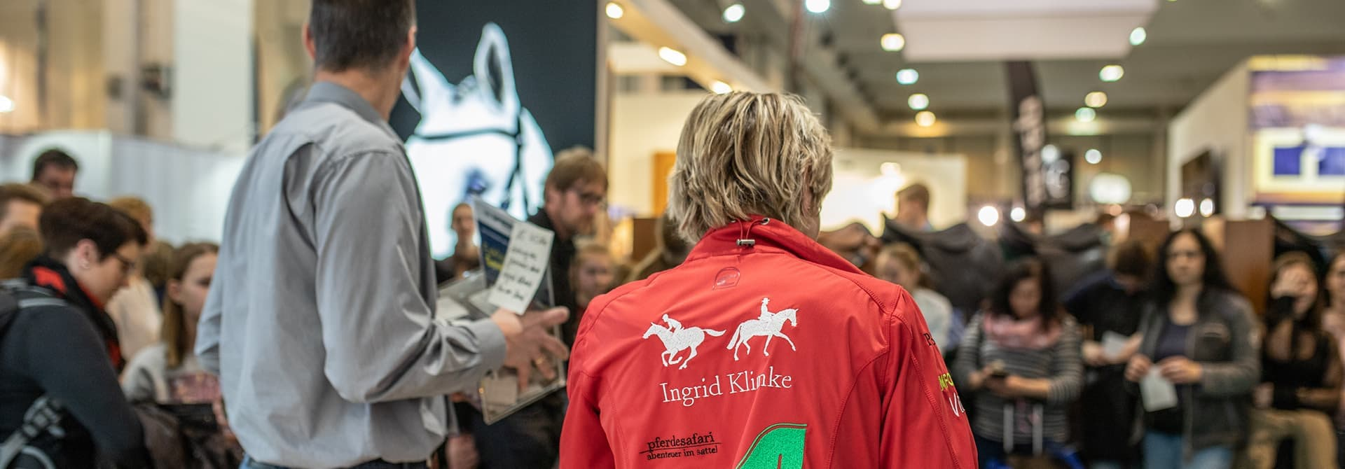 Equitana Fair Ingrid Klimke signing session