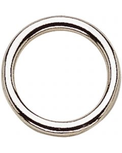 Martingale ring - German Silver