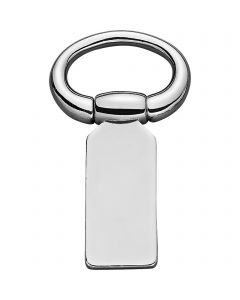 Crupper loop, movable - Stainless steel, 30 mm clear width