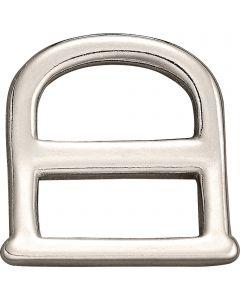 Breechen dee - German Silver, 23 mm clear width