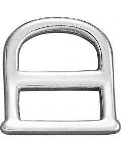 Breechen dee - Stainless steel, 25 mm clear width