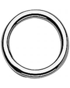 Round ring for hames - Stainless steel