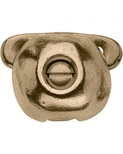 Toe weight - brass polished