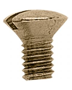 screw for toe weight - brass polished