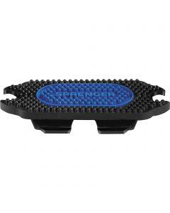 Stirrup pads for Bow Balance Stirrups - Rubber black / blue