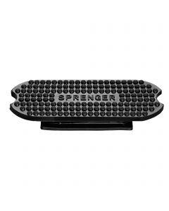 Stirrup pads for Fillis stirrups - Rubber black, size 120 mm