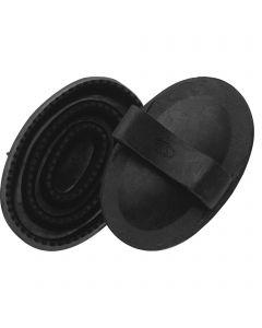 Gummistriegel für Kinder - Gummi schwarz, Maße 130 x 80 mm