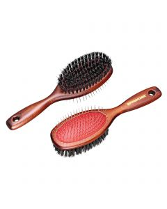 Mane brush with two sides, Measures 230 x 65 mm