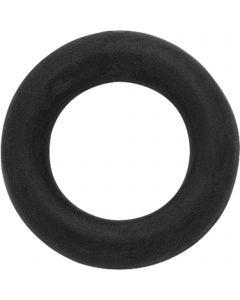Longierringe - Gummi schwarz