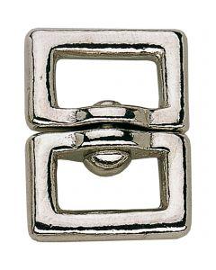Swivel small - German Silver, 14 mm clear width