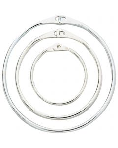 Display ring - Steel nickel plated