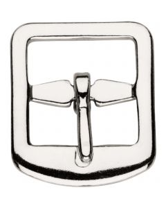 Stirrup leather buckle