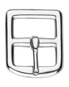 Stirrup leather buckle - Stainless steel, 23 mm clear width