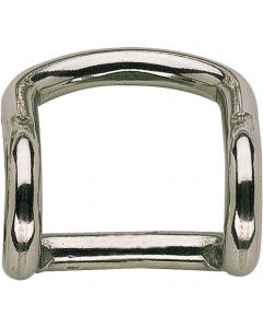 Buckle for reins - Stainless steel, 24 mm clear width