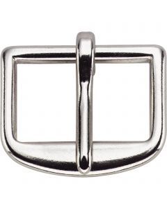 Bridle buckle, punched - German Silver
