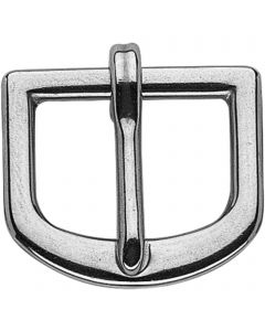 Bridle buckle, punched, high strength