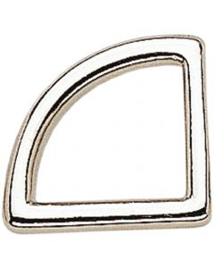 Noseband ring - German Silver