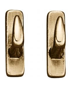 Hook stud for rounded bridles