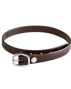 Spur straps 45cm Biothane brown