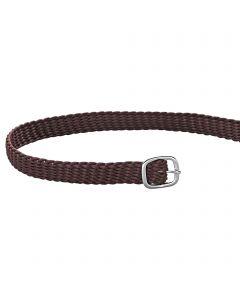 Spur straps 45cm perlon brown