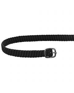 Spur straps 45cm perlon black