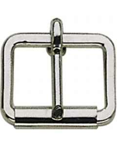 Buckle with roller, welded, round and very strong
