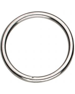 Ring, welded - Steel nickel plated