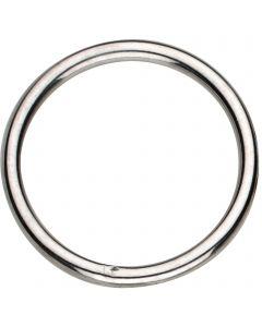 Ring, geschweißt - Stahl vernickelt